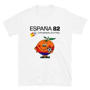 Camiseta Naranjito España 82