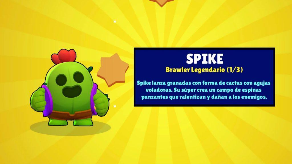 Camiseta Spike Brawl Stars videojuego