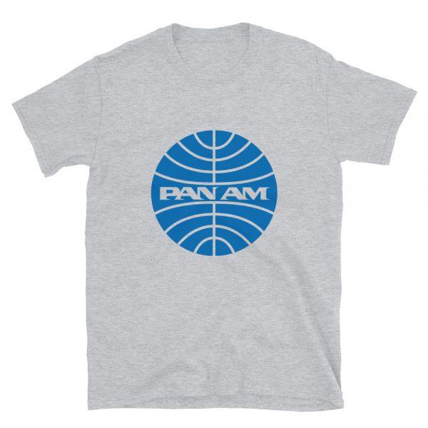 Camiseta Pan Am, Aerolíneas, Vintage