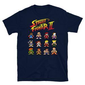 Camiseta Street Fighter 2